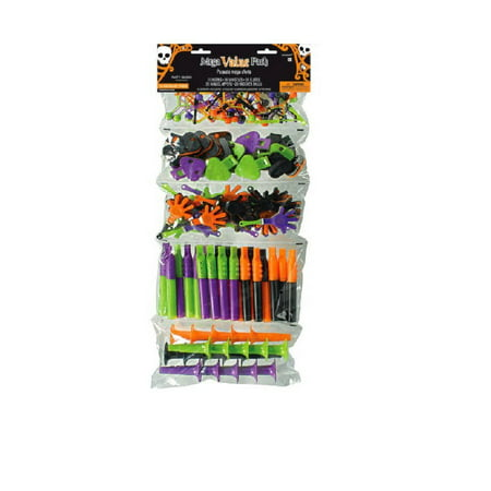 Super Mega Mix Halloween 100 Party Favors - Budget Halloween Party
