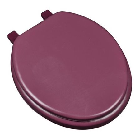 Deluxe Soft Round Toilet Seat, White - image 1 de 1