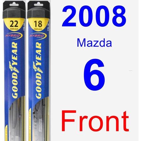 - 2008 Mazda 6 Wiper Blade Set/Kit (Front) (2 Blades) - Hybrid