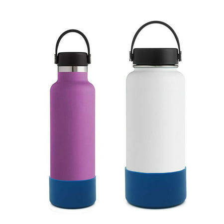EEEkit Protective Silicone Boot for 12oz - 42 oz Hydro Sport Water Bottles Flask Anti-Slip Bottom Sleeve Cover,Ideal for all outdoor activities, and durable for any surface (16 Oz Hydro Flask)