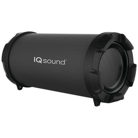 Supersonic IQ-1306BT BLACK Bluetooth(R) Portable Speaker (Black)