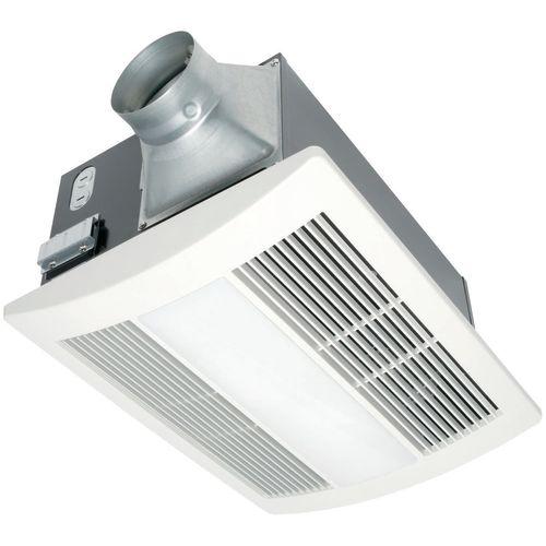 Panasonic WhisperWarm fan-heat, 110 CFM, 0.7 sone  APPA11VHL2