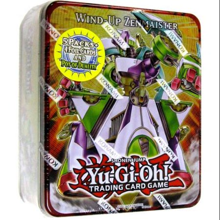 Yu-Gi-Oh Zexal 2011 Collector Tin Wind-Up Zenmaister Collector Tin (Wind Tin)