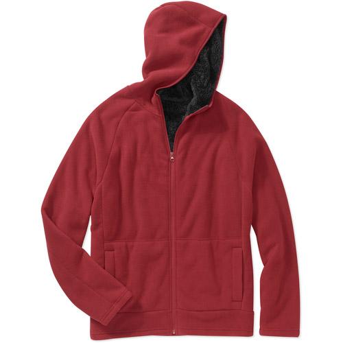 Faded Glory Big Men's Bonded Micro Fleece Jacket