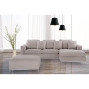 Velago OSLO by  Modern Fabric Upholstered Sectional Sofa