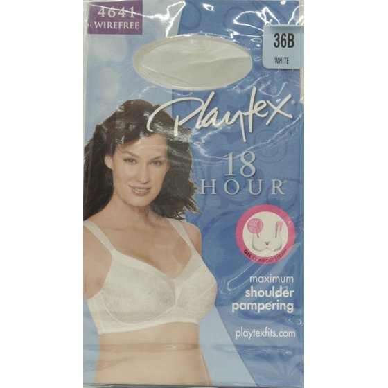 4ec1d563d4d41 Playtex - 18 Hour Gel Comfort Strap Wireless Bra