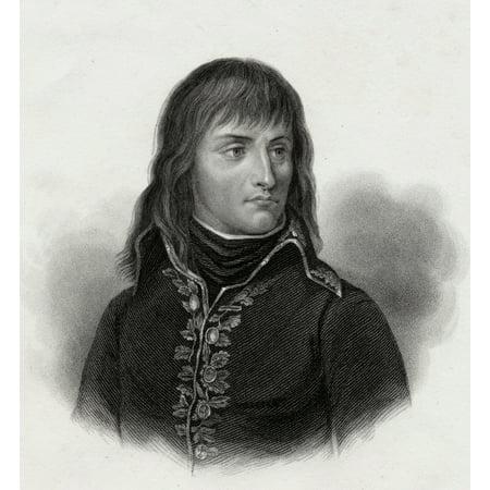 Napoleon Bonaparte 1769-1821 Emperor Of The French 19Th Century Print Engraved By S Freeman PosterPrint
