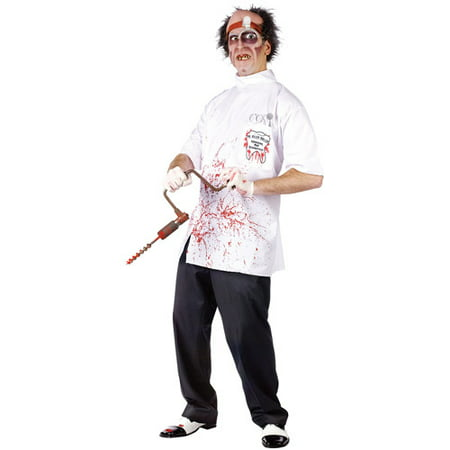 Doctor Killer Driller Adult Halloween Costume - Dirty Halloween Doctor Names