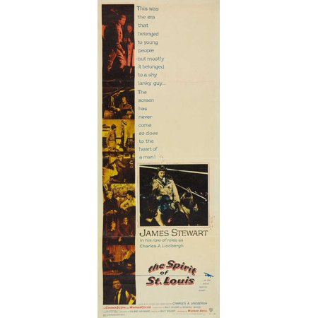 The Spirit of St. Louis POSTER Movie Insert A (14x36)](Louis Smith Halloween)