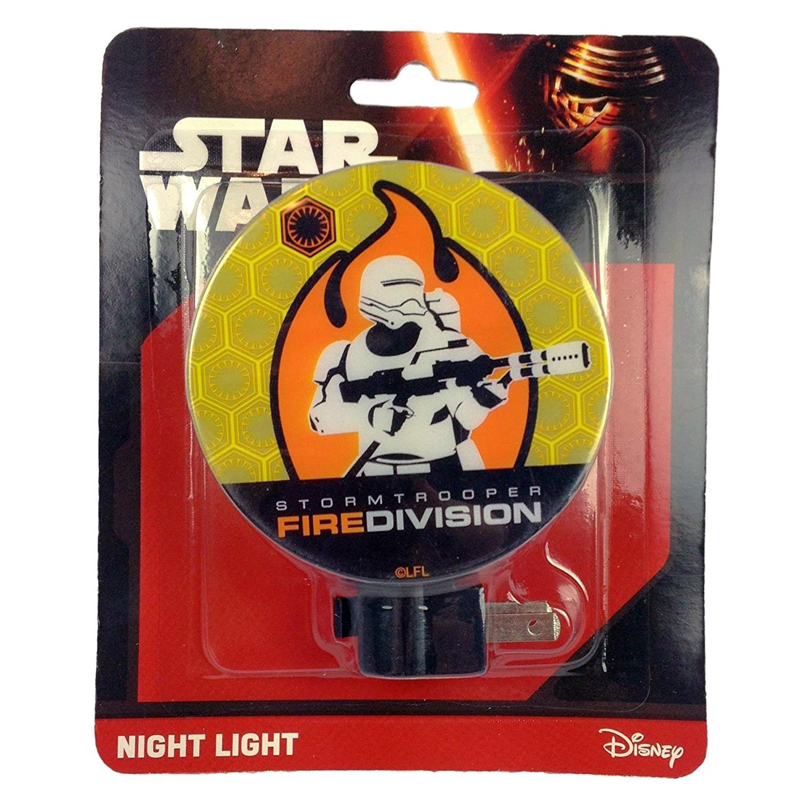 Disney Star Wars Boys Night Light Kids Bedroom Home Decor (2 Characters)