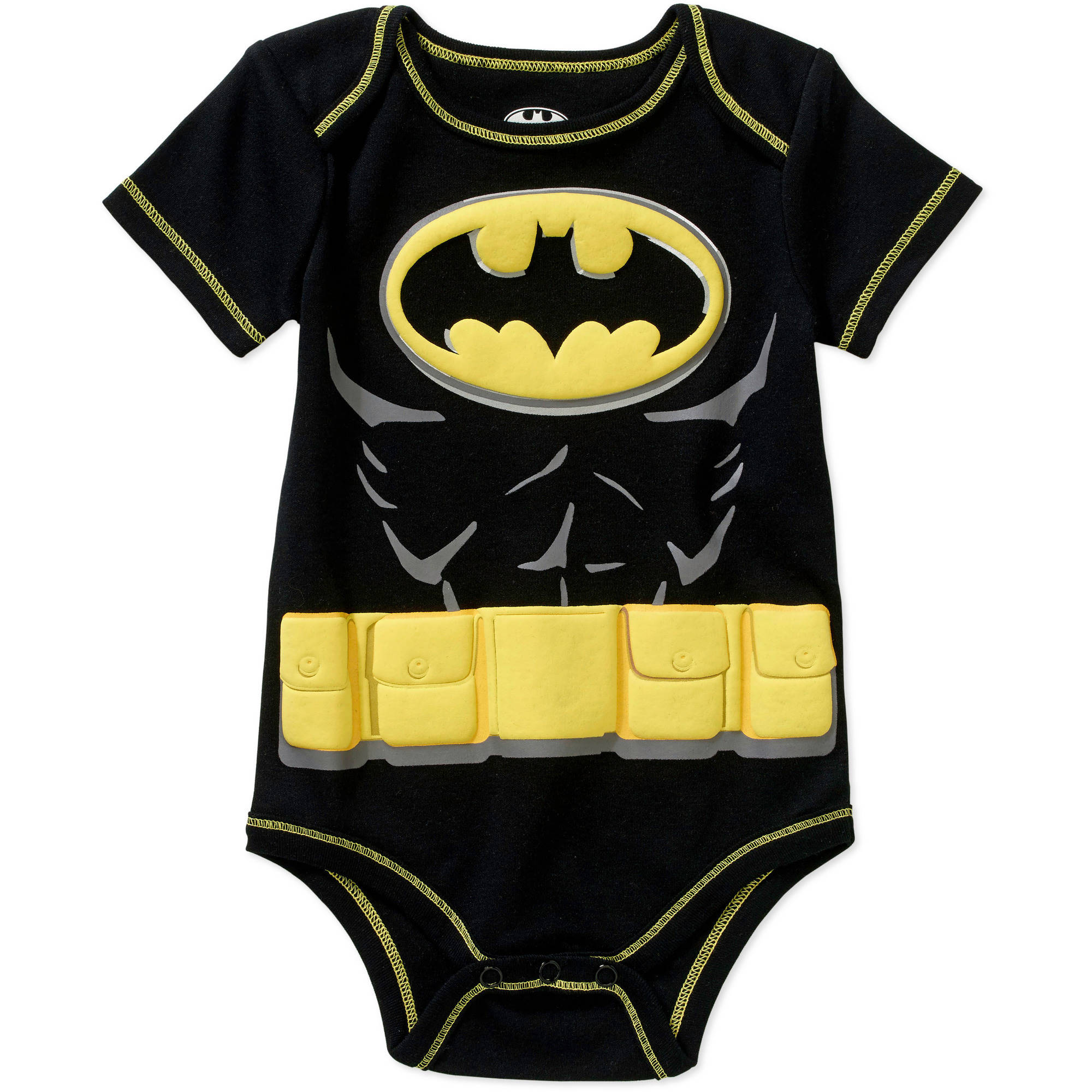 Batman Newborn Baby Boy Bodysuit