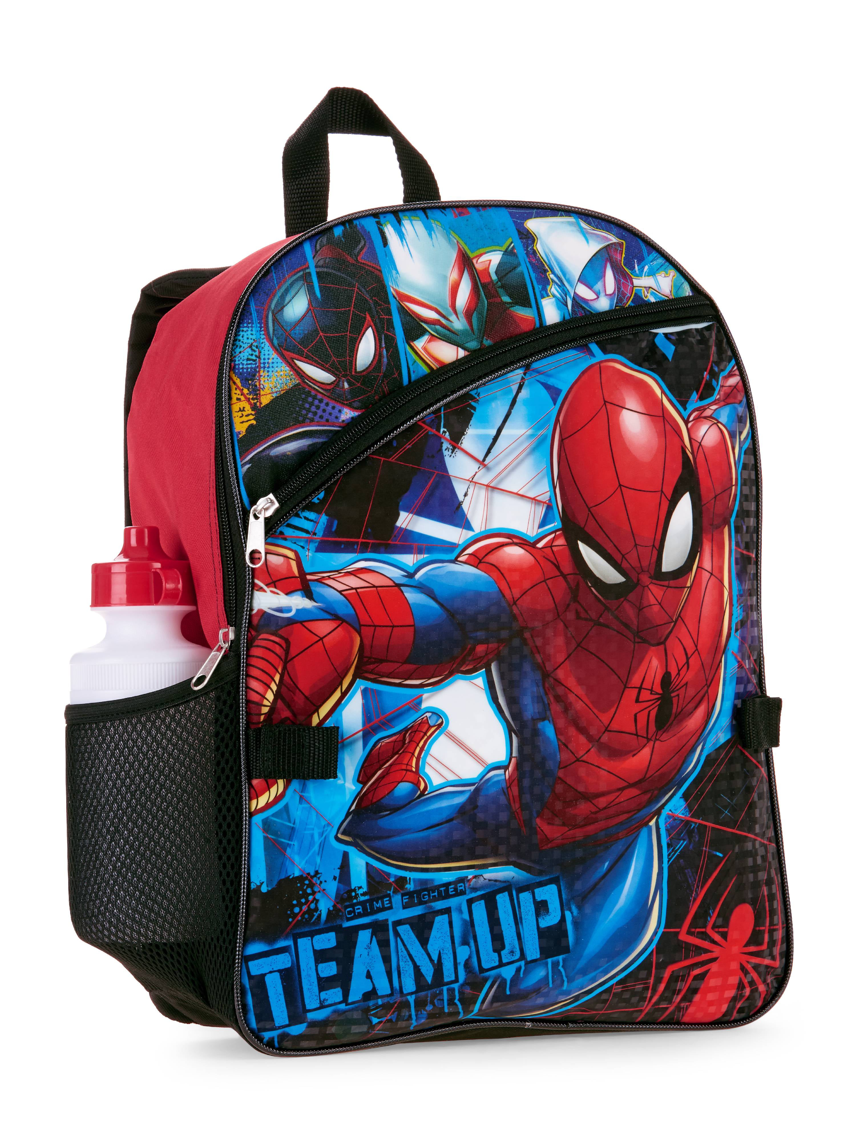 2a968c3e406d Spider-Man 5 PC Backpack w/ Lunch Bag