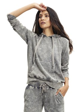 Scoop Acid Washed Hoodie Women's