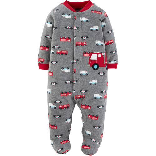 Newborn Baby Boy Button Up Sleep 'N Play