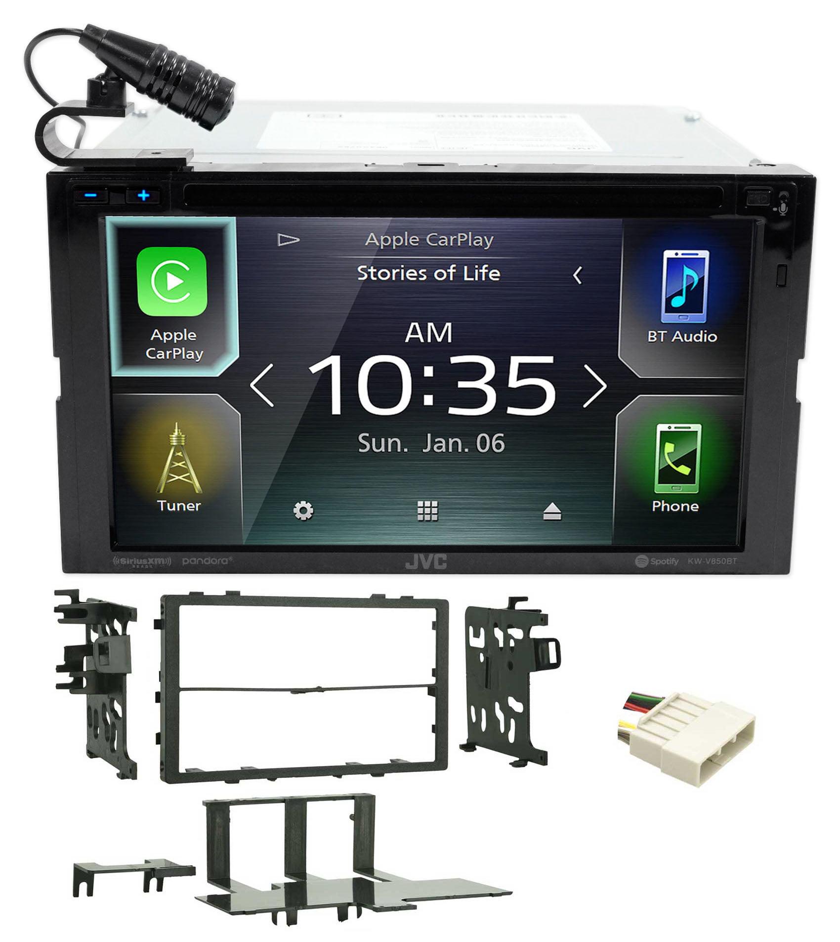"JVC 6.8"" DVD Car Monitor Bluetooth Carplay Receiver For"