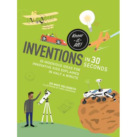 Inventions in 30 seconds : 30 ingenious ideas for innovative kids explained in half a minute](Halloween Ideas Last Minute)