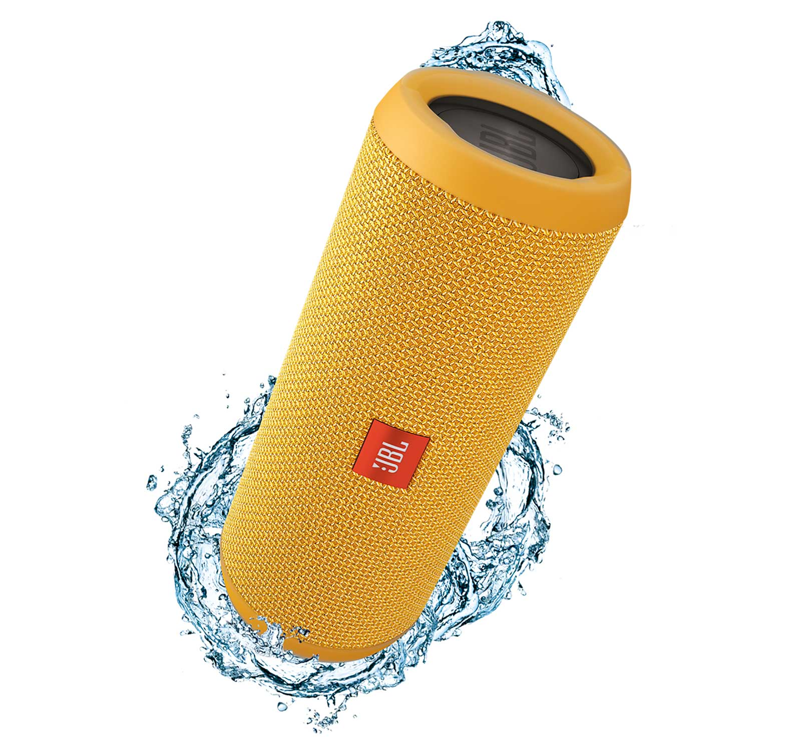 JBL Flip 3 Yellow Open Box Splashproof Bluetooth Speaker