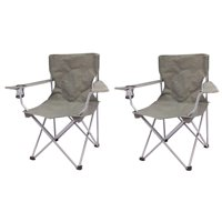 2-Pack Ozark Trail Quad Folding Camp Chair Deals