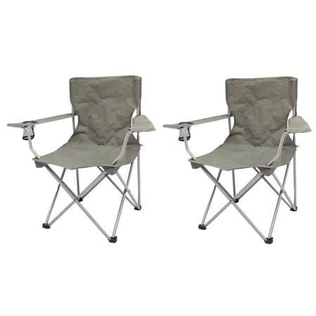 Excellent Ozark Trail Quad Folding Camp Chair 2 Pack Machost Co Dining Chair Design Ideas Machostcouk