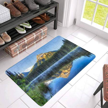 POP Pilot Pond Front Door Mat 30x18 Inches Welcome Doormat for Home Indoor Entrance Kitchen Patio - image 1 of 3
