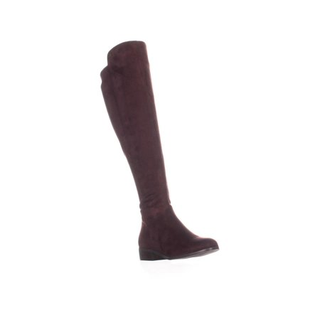 Womens MICHAEL Michael Kors Bromley Knee-High Boots, Damson ()