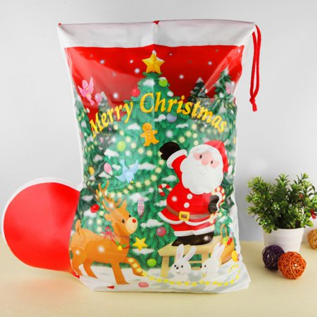 Christmas Gift Bags For Kids.Christmas Snowman Organza Bag Christmas Gift Bag New Year Christmas Festival Party Decorations For Kids Gifts