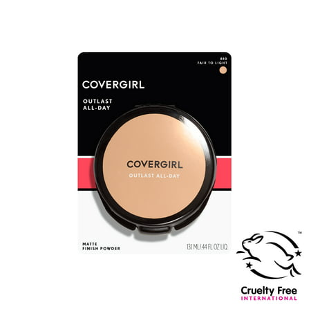 COVERGIRL Outlast All-Day Matte Finishing Powder, Light to Medium, .39 oz (11