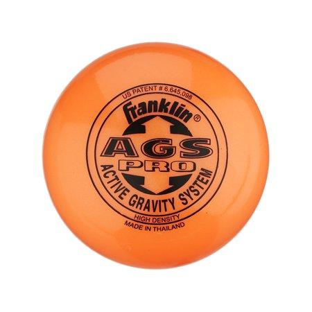 Franklin Sports NHL Active Gravity System High Density Orange Street Hockey Ball