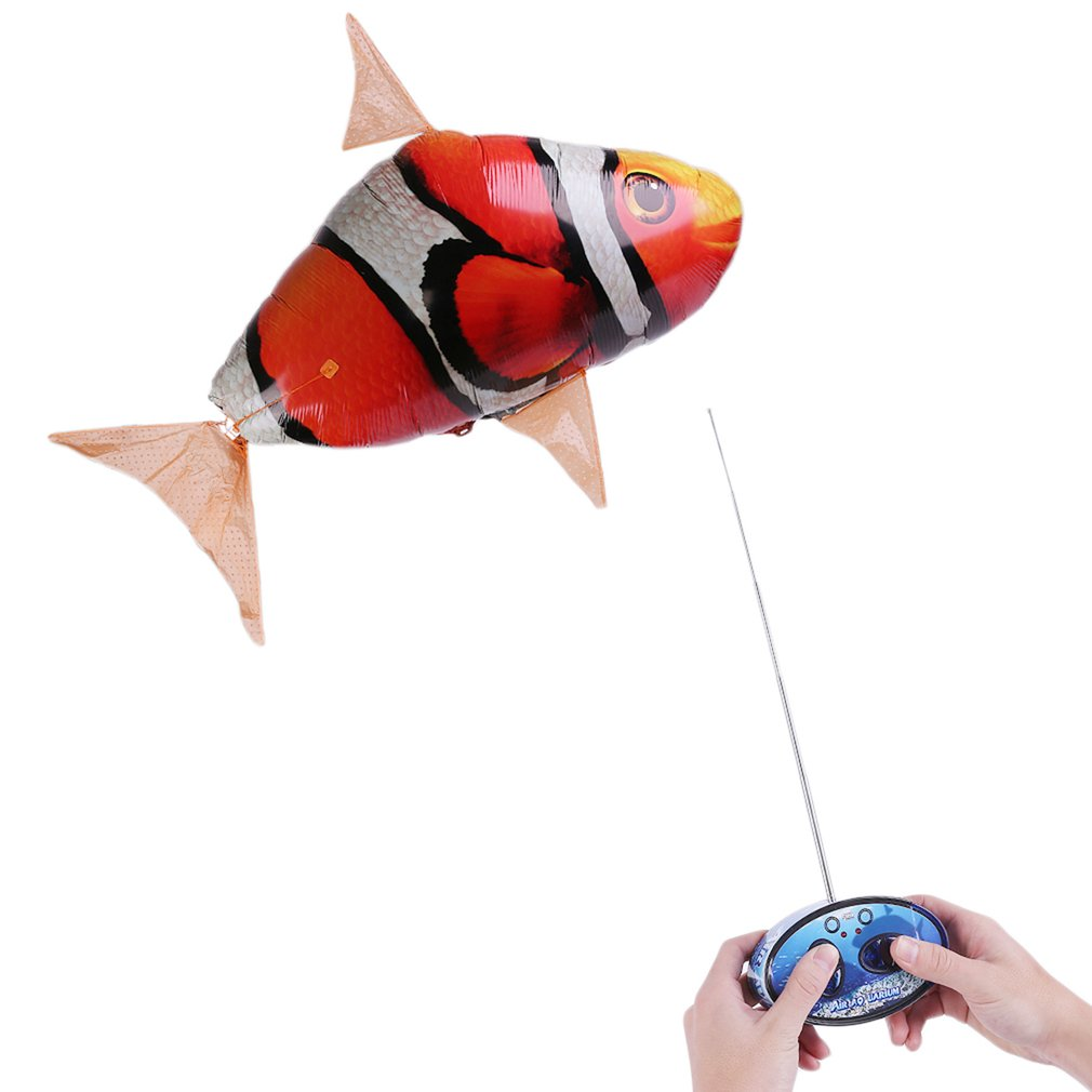Creative Remote Control RC Inflatable Balloon Air Swimmer...