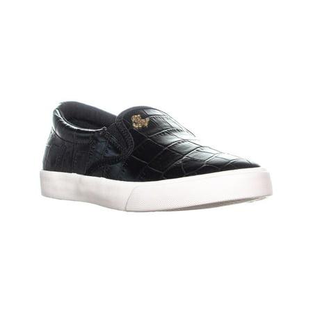 c38e49cad4 LAUREN Ralph Lauren Ria Slip-On Sneakers, Black | Walmart Canada