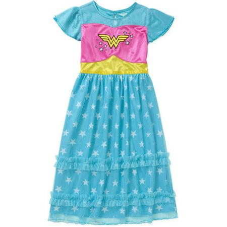 Komar Kids Girls' Fantasy Nightgown](Superhero Nightgown)