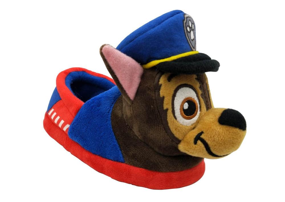 Paw Patrol Toddler Boys' Plush Slippers