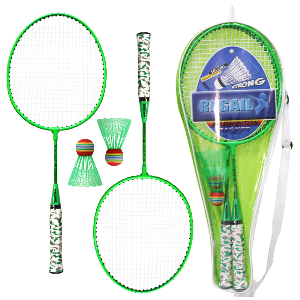 KANDYTOYS M.Y famille 2 Player Pro Badminton Jardin Jeux Set