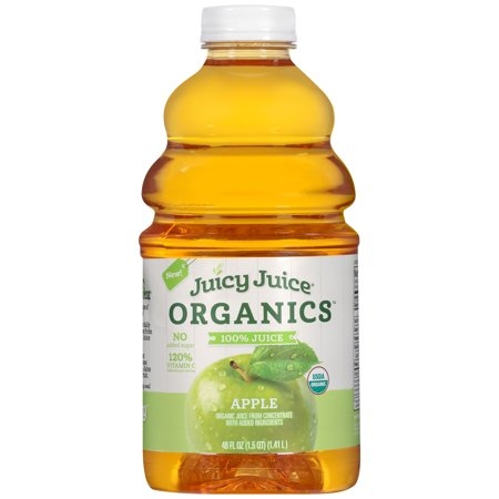 Juicy Juice 100% Organic Juice, Apple, 48 Fl Oz ()
