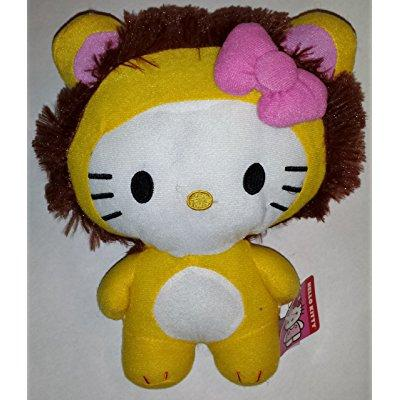 large 10 lion hello kitty big top circus animal plush doll