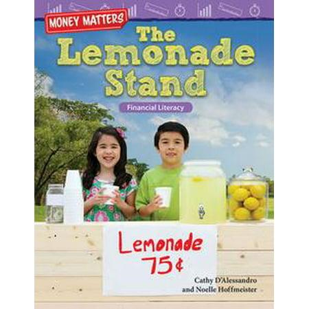 Money Matters The Lemonade Stand: Financial Literacy - eBook - Lemonade Stand Diy