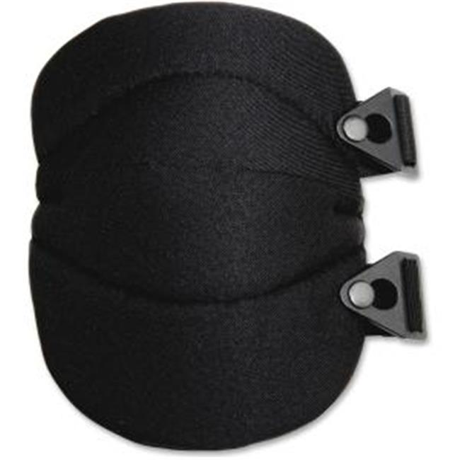 EGO 18230 Proflex 230 Wide Soft Cap Knee Pad, One Size Fits Most - Black