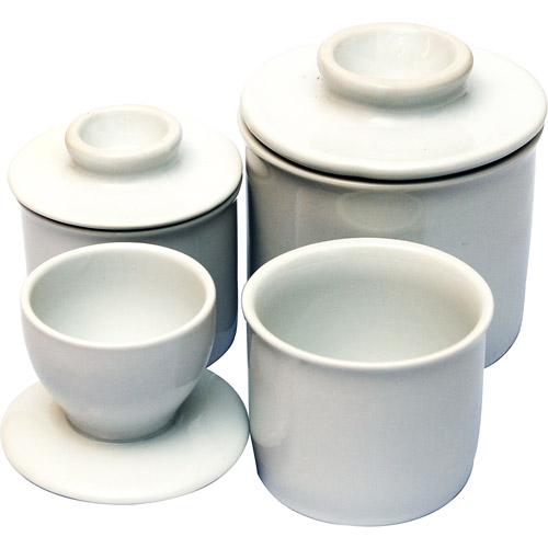 French Butter Pot Set, Ceramic