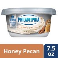 Philadelphia Honey Pecan Cream Cheese Spread, 7.5 oz Tub