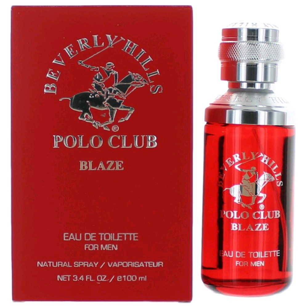 Beverly Hills Polo Club Blaze Cologne 3.4oz EDT Spray men
