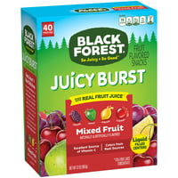 Black Forest Mixed Fruit Fruit Snacks Pouches, 0.8 Oz (40 Count)