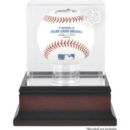 San Francisco Giants 2012 World Series Champs Antique Mahogany Baseball Logo Display (San Francisco Giants Win World Series 2012)