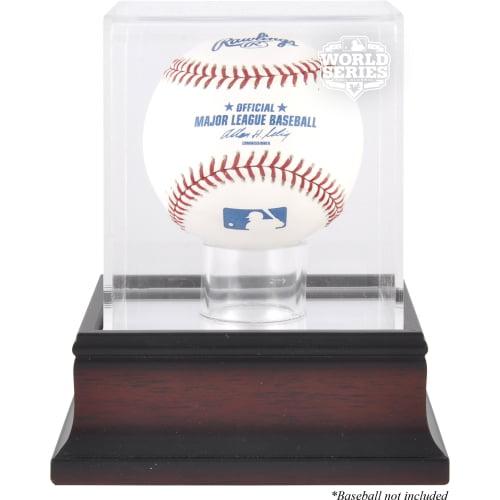 San Francisco Giants 2012 World Series Champs Antique Mahogany Baseball Logo Display Case
