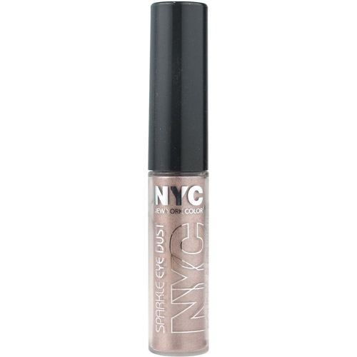 NYC New York Color Sparkle Eye Dust, Pink Topaz