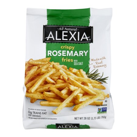Alexia Crispy Rosemary All Natural Fries with Sea Salt, 28 ...
