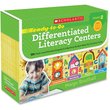 Instant Literacy Center (Scholastic, SHS0545549981, Res. Grade 2 RTG Differentiated Literacy Center, 1 Each, Multi)