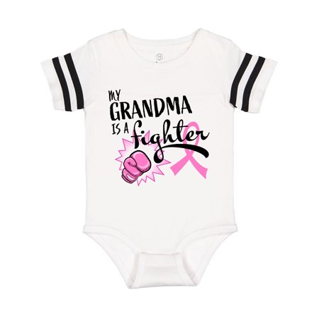 My Grandma is a Fighter- Breast Cancer Awareness Infant Creeper