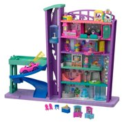 Polly Pocket Pollyville Mega Mall Playset with Themed Accessories