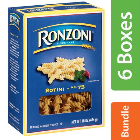(6 Pack) Ronzoniî Rotini 16 oz. Box