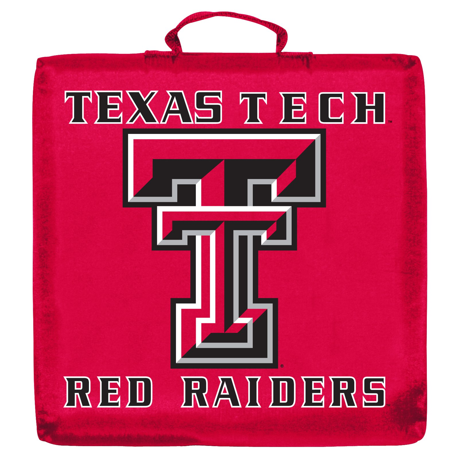 Logo Chair NCAA Texas Tech Stadium Cushion